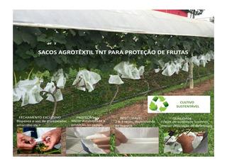 Sacos Agro Tnt C/ Elástico 18x22cm Proteção Frutas 1.000 Un