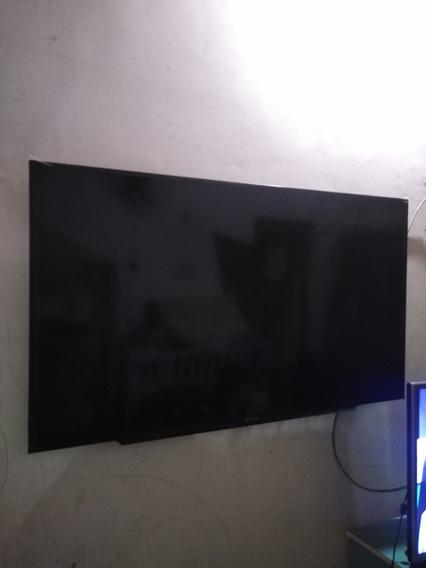 Tv Sony Kdl48w655d Defeito Na Tela Para Retirada De Peças.