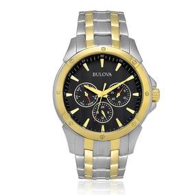 Relógio Masculino Bulova Analógico Wb21632p Dourado