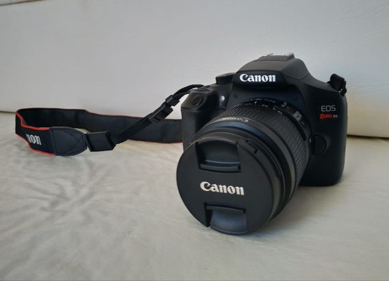Canon T6 Kit Lente 18-55 7