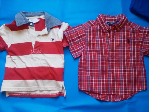 Ropa Para Niño Camisa Y Suerte