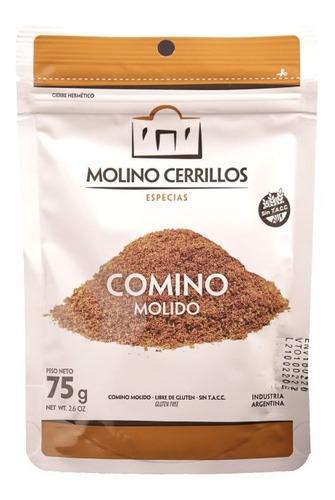 Comino Molido Premium Molino Cerrillos Doypack 75g Sin Tacc