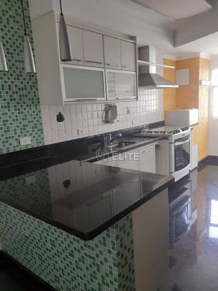 Apartamento Com 3 Dormitórios Para Alugar, 98 M² Por R$ 2.800/mês - Jardim Bela Vista - Santo André/sp - Ap10226