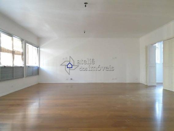 Apartamento Para Locação, Reformado, Santa Cecília, 3 Dormitórios, 1 Suíte, 2 Vagas, 234,59 M² - Ap1909ati