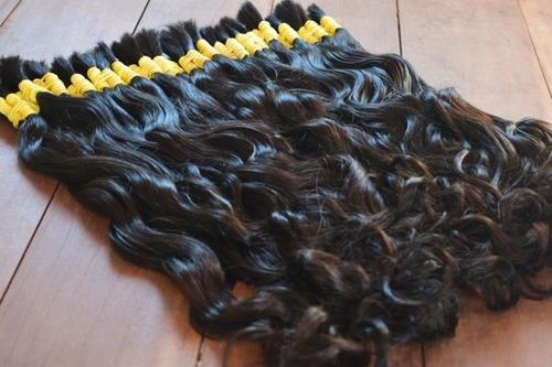 Cabelo Humano Mega Hair 75cm 100 Gr Castanho Brasileiro