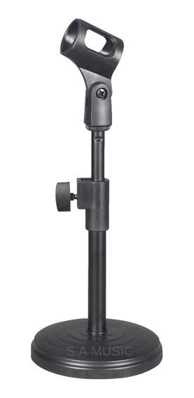 Suporte Pedestal De Mesa Tripé P/ Microfone - Bm 800 Sf 920