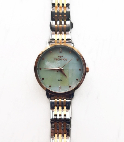 Relógio Feminino Technos  Madrepérola 2036mji/5b