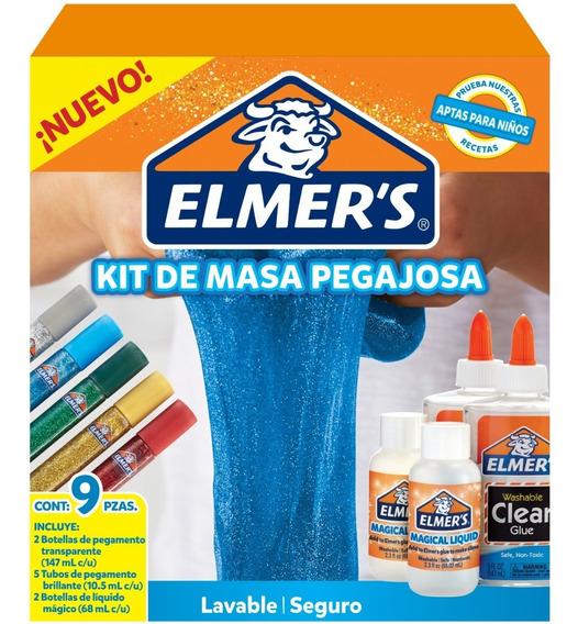 Kit De Masa Pegajoso Elmer