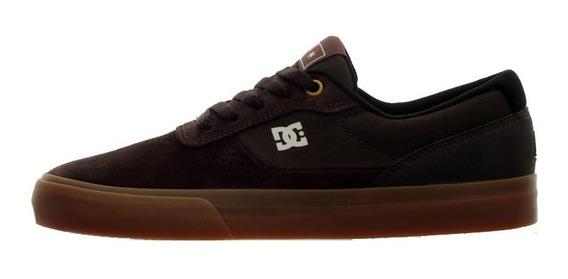 Tênis Dc Switch S Brown/gum Dc