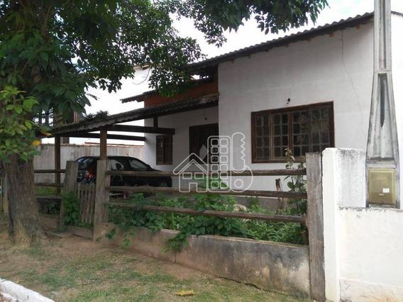 Casa Com 2 Dormitórios À Venda, 130 M² Por R$ 295.000,00 - Várzea Das Moças - Niterói/rj - Ca1227