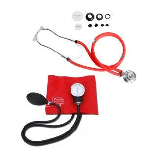 Kit Enfermagem Aparelho De Pressão + Esteto C/ Bolsa Premium