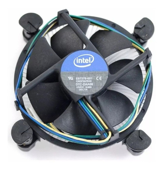 Fan Cooler Intel Disipador 1150 1155 1156 I3 I5 Fancooler