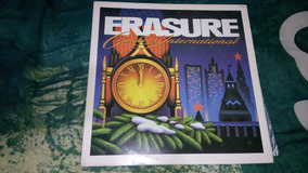 Lp Erasure - Crackers International (semi-novo)