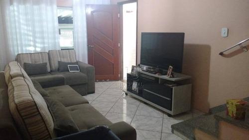 Sobrado Com 3 Dormitórios À Venda, 181 M² Por R$ 385.000,00 - Parque João Ramalho - Santo André/sp - So3597