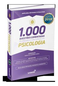 Livro 1.000 Questões Provas E Concursos Em Psicologia 2019