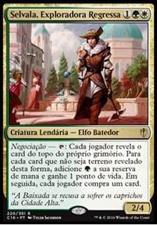 Selvala, Exploradora Regressa - Deck Commander - Mtg