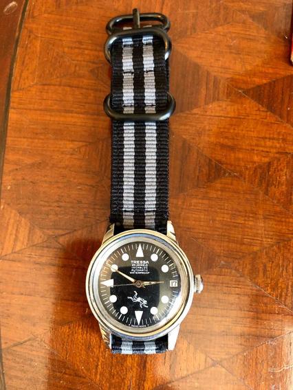 Relógio Diver Submariner Tressa Automatico Revisado Omega