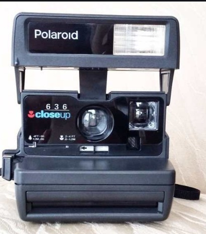 Câmera Antiga Polaroid Mod. 636 Closeup Raridade 1970