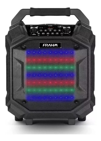 Caixa De Som Amplificada Emborrachada Pb500 Bt Roller Frahm