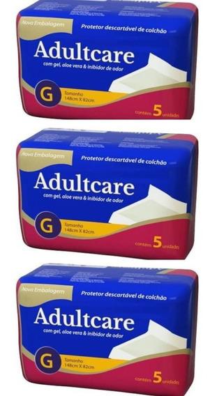 Adultcare Protetor Descartável De Colchão G C/5 (kit C/03)
