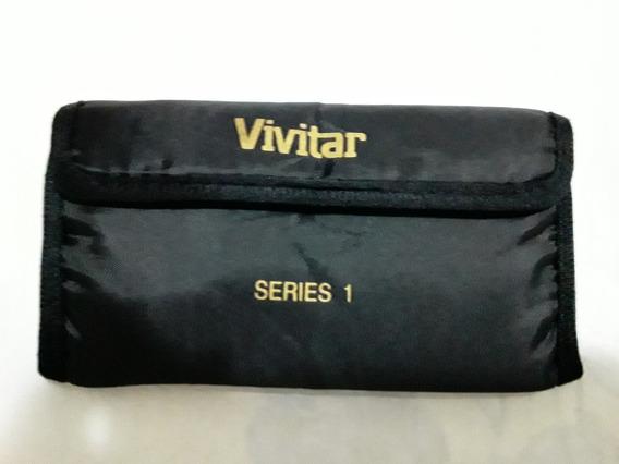 Vivitar 40.5mm 2 Peças Multi Coated Kit De Filtro Uv + Fld
