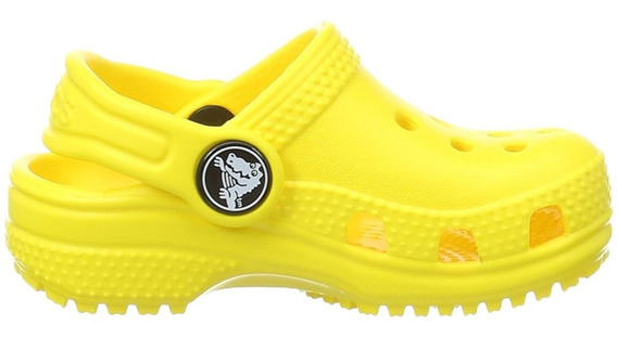 Zapato Crocs Infantil Classic K Amarillo