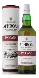 Whisky Laphroaig Px Cask De Litro C/lata Single Malt Escoces