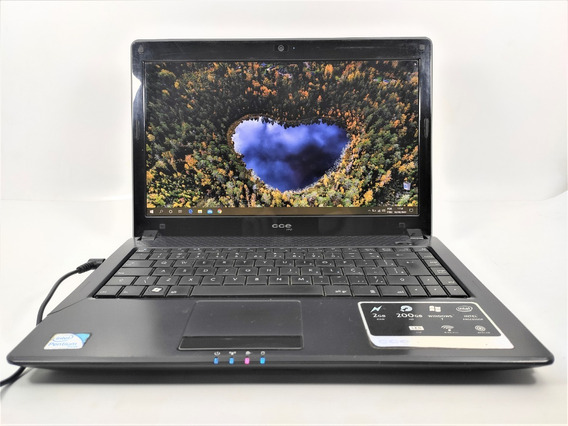 Notebook Cce Win Dual Core 2gb Ram 185gb Hd *ler Descrição*