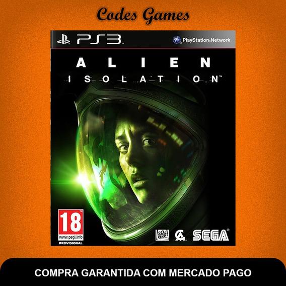 Alien Isolations - Ps3 - Português - Pronta Entrega
