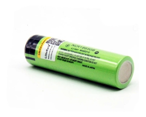 2 Bateria Original 18650b 3.7v 3.400mh Liitokala C/garantia