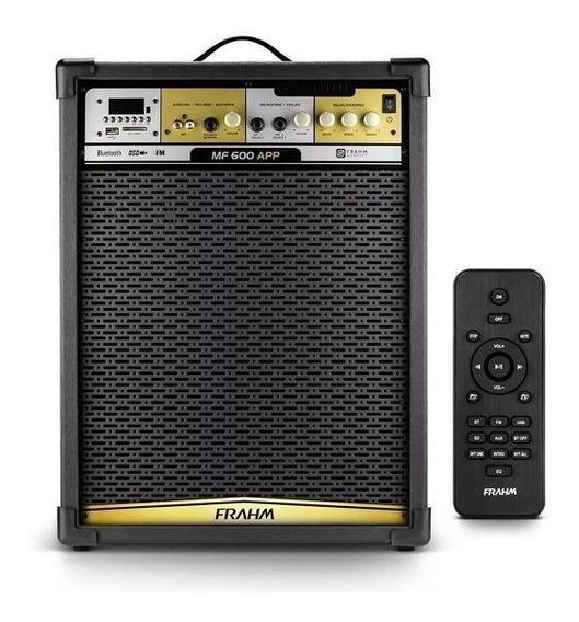 Caixa Amplificada Frahm Mf 600 App Bluetooth 31516