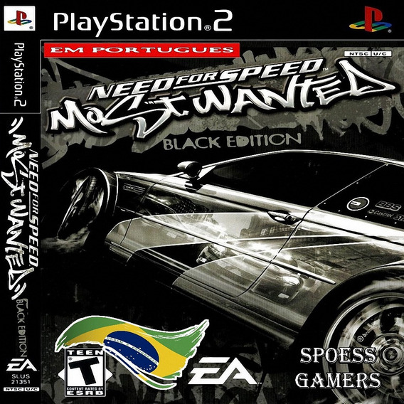 Need For Speed Most Wanted Black Ps2 Patch Portugues