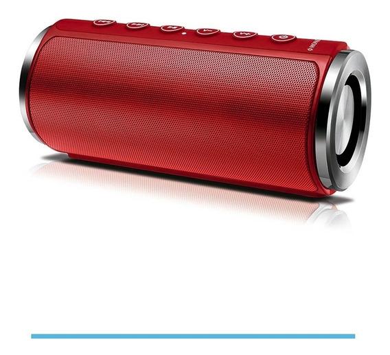 Caixa De Som Speaker Mondial 20w Sk-03 Vermelha Bivolt