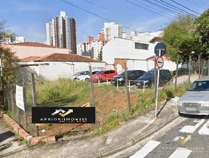 Terreno À Venda, 580 M² Por R$ 2.500.000,00 - Jardim Bela Vista - Santo André/sp - Te0040