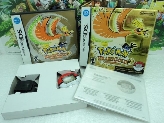 Pokemon Heart Gold - Completo Em Ótimo Estado - 12x S/ Juros
