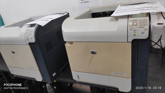 Impressora Hp Laser Jet P4515n 2 Unidades Por 600