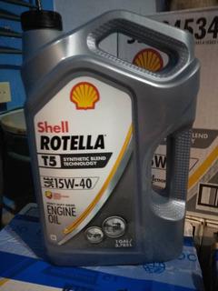 Shell T5 15w40 Sintetico Para Motores A Diesel