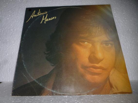 Lp Antonio Marcos O Tempo Conta Dobrado 1982 Br Com Encarte
