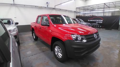 Volkswagen Amarok Trendline 4x2 Rojo Retiro Inmediato!