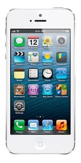 iPhone 5 16gb Branco Bom Usado Seminovo Com Garantia