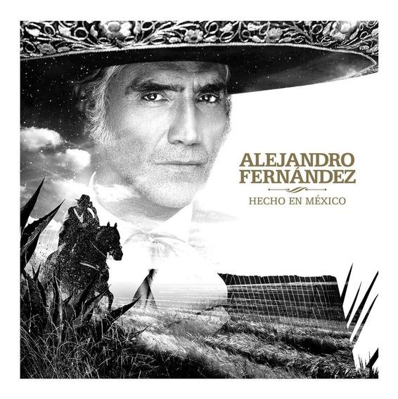 Alejandro Fernandez Hecho En México Cd (nuevo) X 3 Unidades