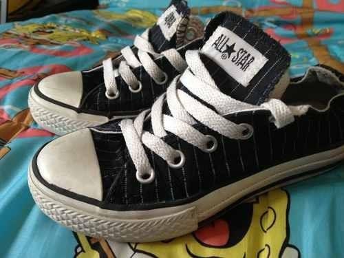Converse All Star Zapatillas Niños 28 Como Nuevas!!