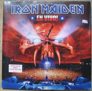 Iron Maiden - En Vivo (emi 50999 301587 1 9) Ue