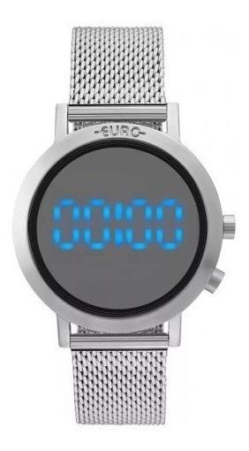 Relógio Euro Feminino Digital Eubj3407ab/3p Original Promoçã