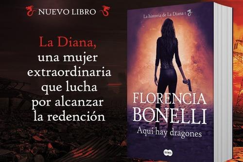 Aquí Hay Dragones Florencia Bonelli Sudamericana Libreriadelalumno