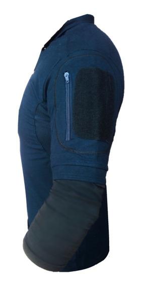 Camisa Cuello Polo Tactica Policia Velcro Militar Profesiona