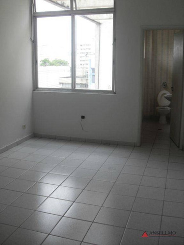 Sala Para Alugar, 60 M² Por R$ 1.100,00/mês - Centro - São Bernardo Do Campo/sp - Sa0065
