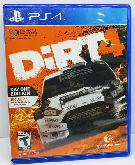 Dirt 4 Edição Day One Edition Ps4 Alemão Games