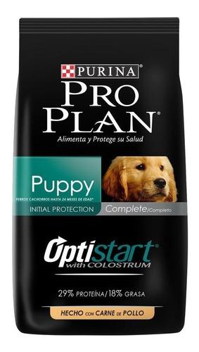 Imagen 1 de 3 de Alimento Pro Plan OptiStart Puppy para perro cachorro de raza mediana sabor pollo/arroz en bolsa de 20.4kg