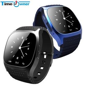 Esporte Bluetooth M26 Com Dial Sms Lembre Pedômetro Relógio